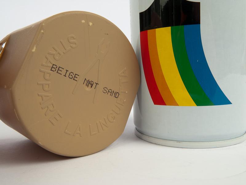 Bombe De Peinture Synthétique ; Su0027applique Sur Métal, Bois, Plastique Dur,  Textile.